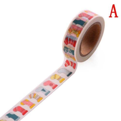 Weihnachten Serie DIY Tape Klebeband Papierklebeband Masking Tape Dekor Was C0A1