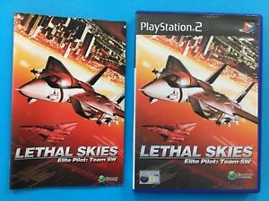 LETHAL-CIELI-Elite-pilota-del-team-SW-in-scatola-SONY-PLAYSTATION-2-PS2-PAL-videogioco