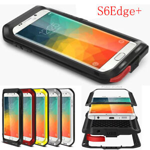 pretty nice aa2ac 25c8c Details about Waterproof Shockproof Metal Aluminum Gorilla Glass Case Cover  For Cell Phones