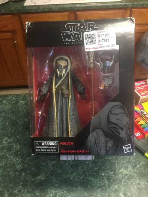 "Damaged Box Star Wars The Black Series 6"" Moloch (TARGET EXCLUSIVE)"