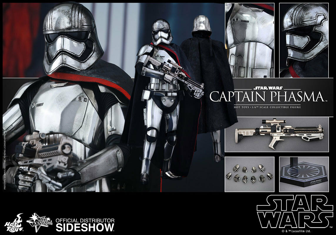 Hot Toys Star Wars: The Force Awakens CAPTAIN PHASMA 12  Figure 1/6 Scale MMS328
