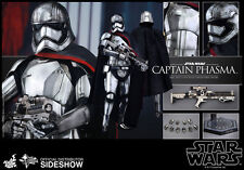 "Hot Toys Star Wars: The Force Awakens CAPTAIN PHASMA 12"" Figure 1/6 Scale MMS328"