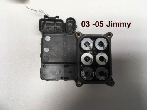 03-05-CHEVROLET-CHEVY-BLAZER-JIMMY-S-10-S10-ABS-BRAKE-MODULATOR-13354723-REMAN