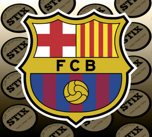 Fc Barcelona Stickers.Details About Fc Barcelona Logo Color Die Cut Vinyl Sticker Car Window Hood Bumper Decal