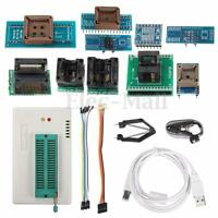 TL866A USB minipro Programmer 10 Adapter EEPROM FLASH AVR MCU PIC SPI in-circuit
