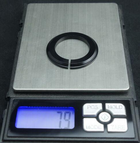 .1-1//8 To 1-1//2 Tapered Steerer Black Ring-fork//Steerer Tube Adaptor Reducer.