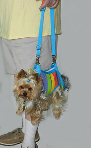 The-Pet-Cab-Faux-Fur-Hands-Free-Dog-Carrier-FOR-REAL-DOG-Puppy-Purse