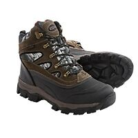 Kodiak Bear Snow Boots - Men's Size 9 Brown Suede/camo Free Usa Shipping