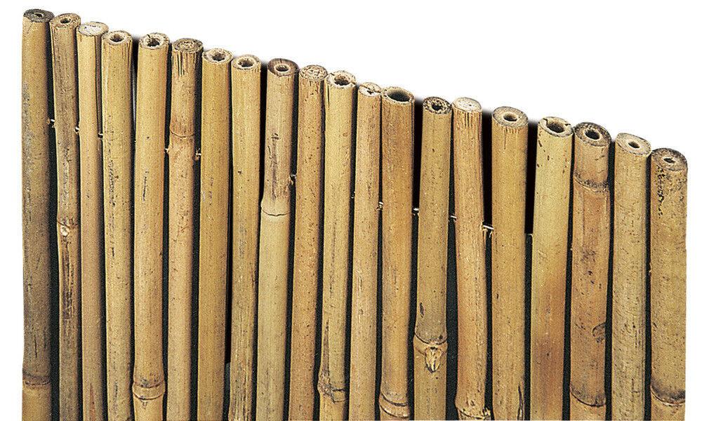 verdeLOOK Arella River in cannette di bamboo pieno dimensioni 1.5x3 m, coperture