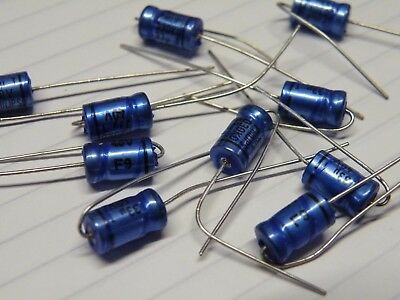 10 Pcs Axial Electrolytic Capacitor Philips 33uf 40v Uk Stock A40-33u Loc Cj33 Aromatischer Geschmack