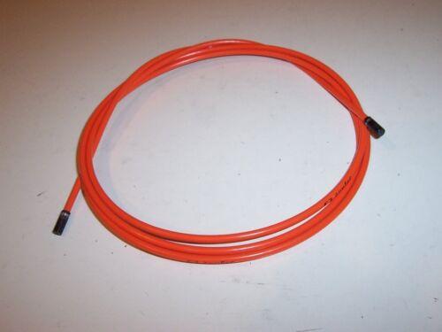 6.5ft Orange 2m Jagwire 4mm L3 Derailleur Housing NEW