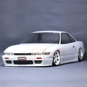pandora nissan silvia s13 1 10 rc cars drift 194mm clear body set pab 123 ebay. Black Bedroom Furniture Sets. Home Design Ideas