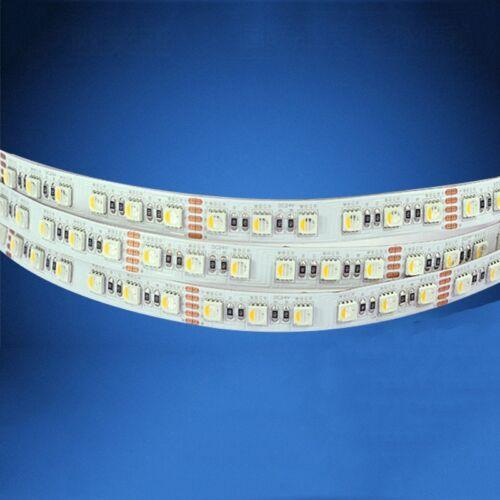 LED Streifen LED Strip Stripes Band RGB+Warmweiß 24V 10M=5m x 2 5050 SMD RGBW
