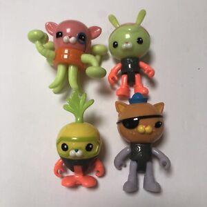LOT-4-Octonaut-Playset-4-Action-Figures-Kwazii-Tweak-Inkling-Octoglow-Crew