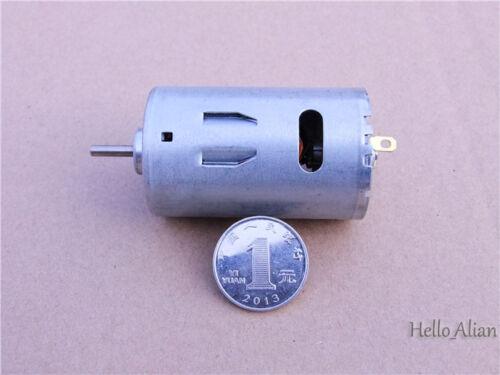DC 6V-24V 12 V 26000 tr//min High Speed Power Full Metal Mini électrique RS-390 moteur DC