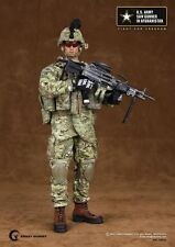 "Crazy Dummy 1/6 Scale 12"" US Army Saw Gunner in Afghanistan Action Figure 78004"
