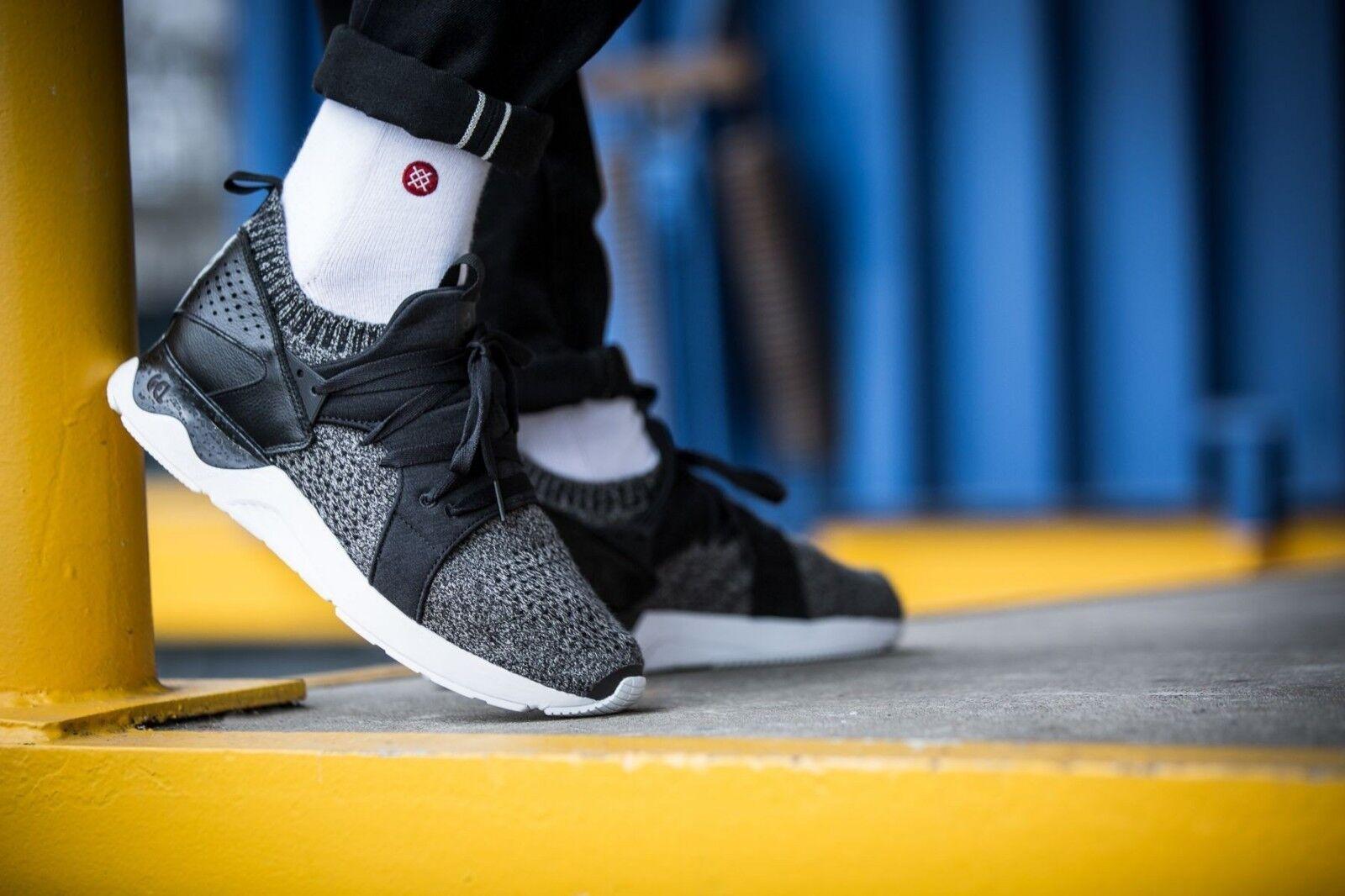 Asics Tiger Gel-Lyte V Sanze Knit  Mid Grey H8K1N-9696  Men's Athletic Sneakers