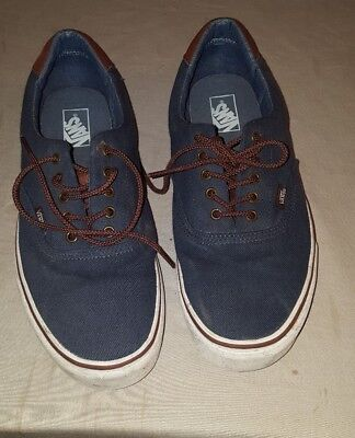 VANS TB8C Off the Wall Blue Sneakers Skate Shoes Mens US 13   eBay