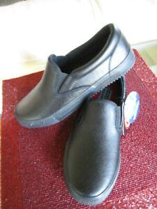 Secretario tubería cuenco  Para mujeres Zapatos de trabajo 76559 Skechers Relaxed Fit Memoria Espuma  Antideslizante Negro 8M | eBay