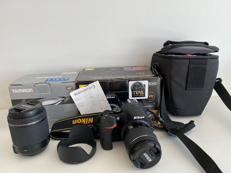 Nikon Nikon D 5500, spejlrefleks, Perfekt