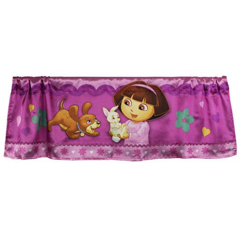 Dora the Explorer Valance Doras Pets Window Treatment