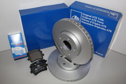 Beläge +WK Vorderachse ATE Bremsscheiben VA für MERCEDES-BENZ E-CLASS T-Model