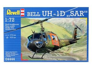 REVELL-BELL-UH-1D-SAR-HELICOPTER-MODEL-KIT-1-72-SCALE-04444