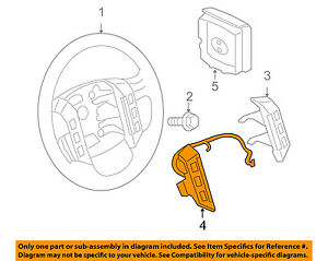 land rover oem 05 06 lr3 cruise control switch xpd500601wvh ebay rh ebay com