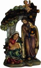 Krippen Krippenfiguren Krippenblock 3x Heilige Familie Größe ca.6cm