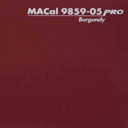 1 m (13,95 € /m) Plotterfolie burgunderrot glänzend Selbstklebefolie 61,5 cm