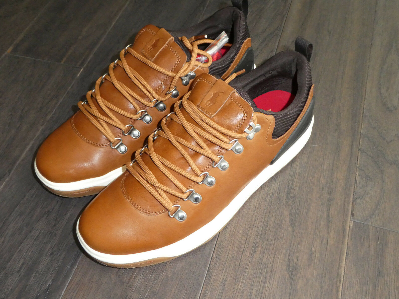 Polo Ralph Lauren Adventure 100 SK ATH tan mens shoes sneaker boot new
