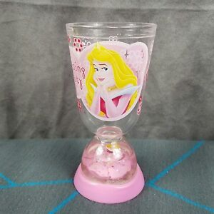 7420ff743a0 Details about Disney Store Princess Aurora Sleeping Beauty Snow Globe Dome  Plastic Cup
