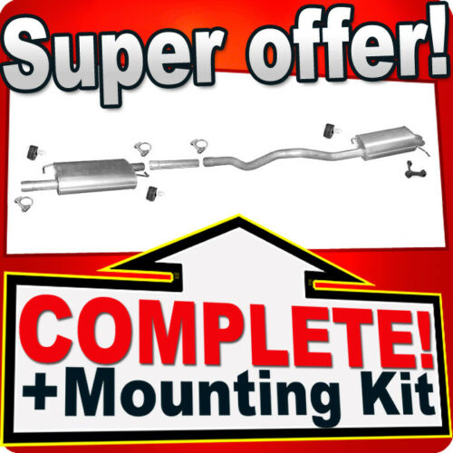 Volkswagen T5 2.5 TDi CAMION PLATE-FORME LWB Silencer Exhaust System R44