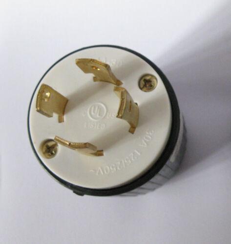 NEW NEMA L14-30 UL Listed Locking Generator Plug 30A 125//250V ~ L1430P