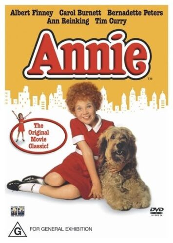 1 of 1 - ANNIE DVD=ALBERT FINNEY-CAROL BURNETT=REGION 4 AUSTRALIAN RELEASE=NEW AND SEALED