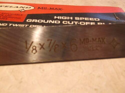 "COBALT CLEVELAND MO-MAX LIST 853 EDP-44745 CUT-OFF blade 1//8/"" x 7//8 x 6/"""