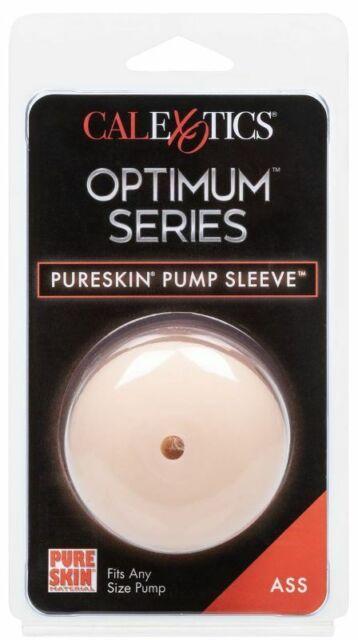 Optimum Series Pure Skin Pump Sleeve Ass California Exotics
