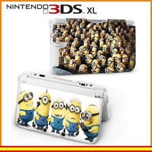 Funda-Protector-Nintendo-3DS-XL-Carcasa-Dibujos-Minions