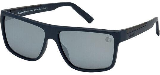 New Timberland Polarized Sunglasses W// Back Surface Anti Glare TB 9057 Black 02R