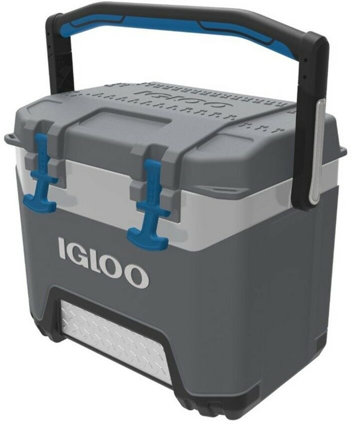 IGLOO 25 qt. Cooler BMX Series Ice Box Chest  Insulated Lid Fishing Ruler Camping  retail stores