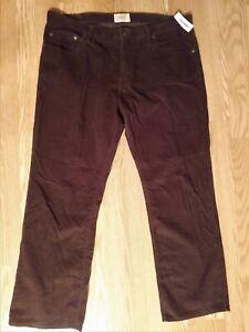 Old Navy Marron Pantalones De Pana Para Hombre De 38 X 30 Cremallera Volar Casual 100 Algodon Ebay