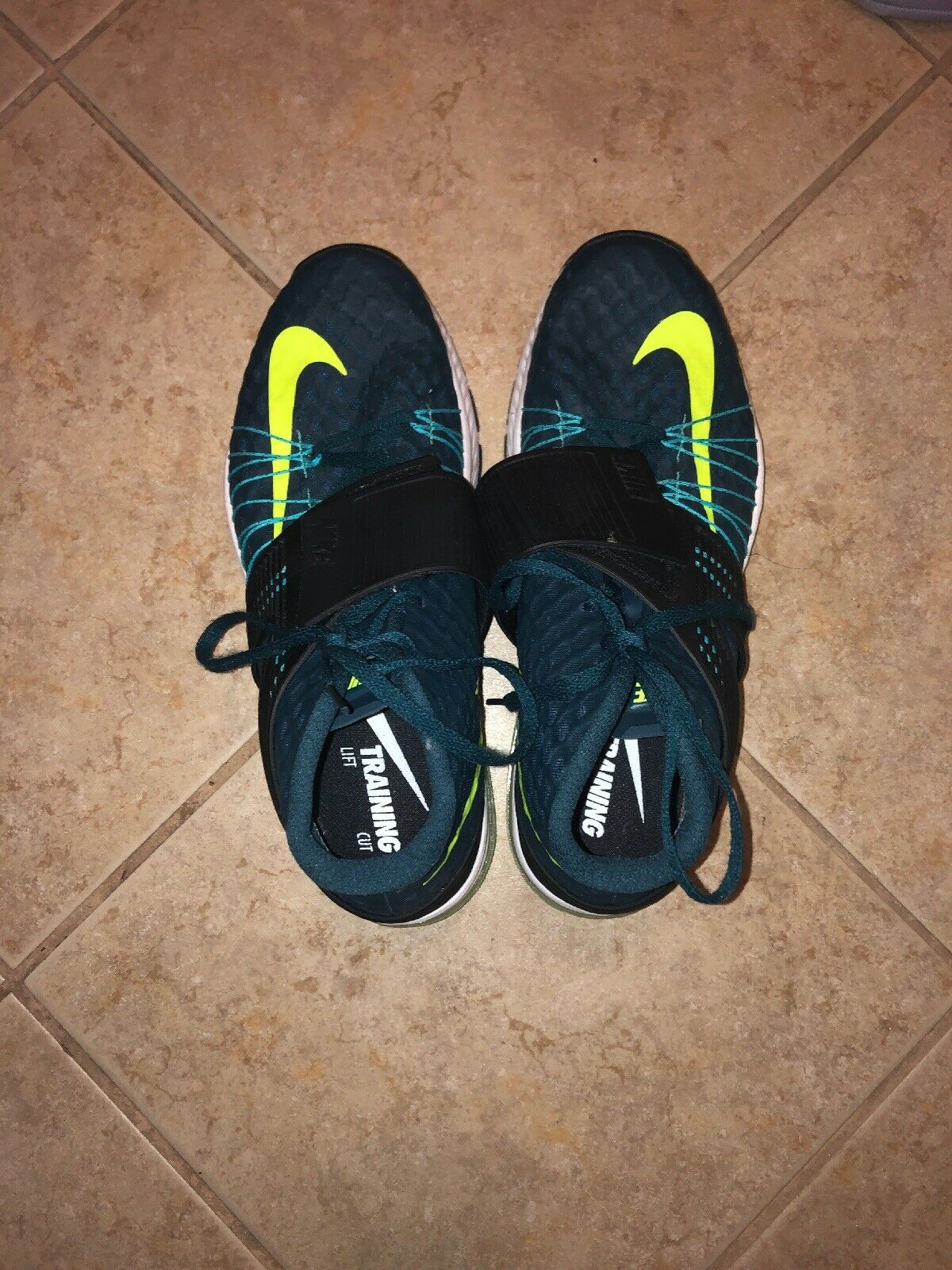 Nike Tornada Zoom Training Size 10 Midnight Turquoise