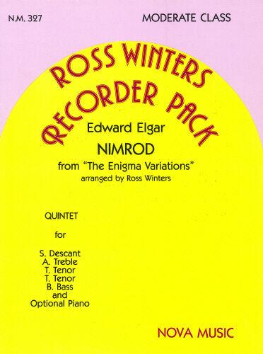 Nova Music RECORDER QUINTET NM327 Nimrod; Sir Edward Elgar