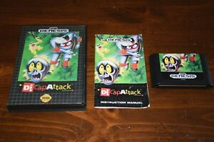 Decapattack-Sega-Genesis-1991-Complete-with-Manual-Game-Case-CIB-Tested