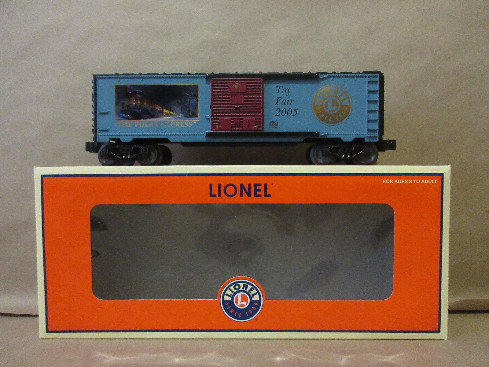 Lionel Polar Express giocattolo Fair 2005 2005 2005 scatolaauto 6-29925 O-Scale Train e69f52