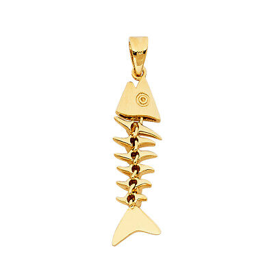 14K Real Solid Yellow Gold  CZ Spade A /& K Card Pendant For men