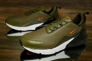 Details about Nike Air Max 270 Premium Olive White BQ6171 200 Running Shoes Men's Multi Size