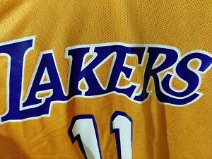 Lakers NBA jersey Mens XL #11 Karl Malone | eBay