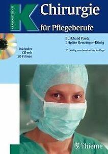 Chirurgie-fuer-Pflegeberufe-von-Burkhard-Paetz-Brigitte-Buch-Zustand-gut