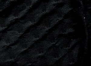 BLACK-DIAGONAL-CRINKLE-TEXTURED-KNIT-FABRIC-STRETCH-150cm-WIDE-NEW-AUSTRALIA